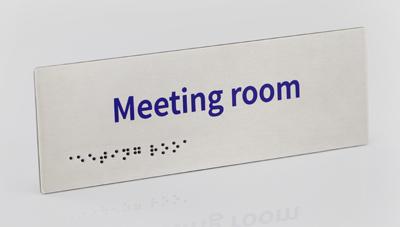 14 – TACTILE & BRAILLE SIGNS
